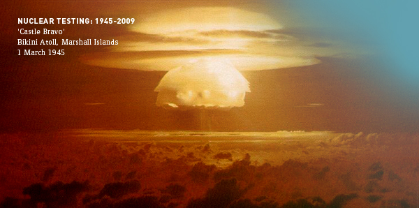 Nuclear Testing 1945 - today: CTBTO Preparatory Commission