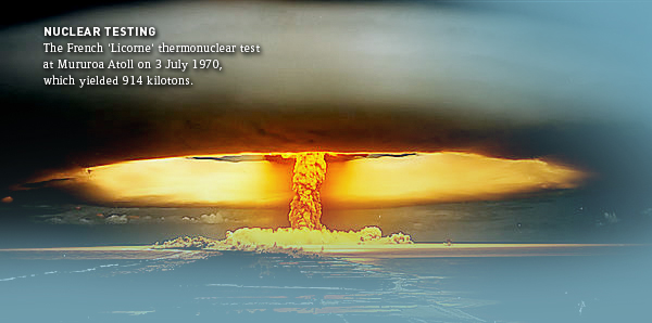 nuclear weapon testing essay