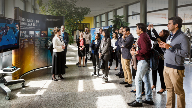 Spreading the word – Pakistani journalists visit the CTBTO ...