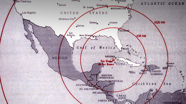 The Cuban Missile Crisis And Nuclear Testing CTBTO Preparatory - Us missiles map